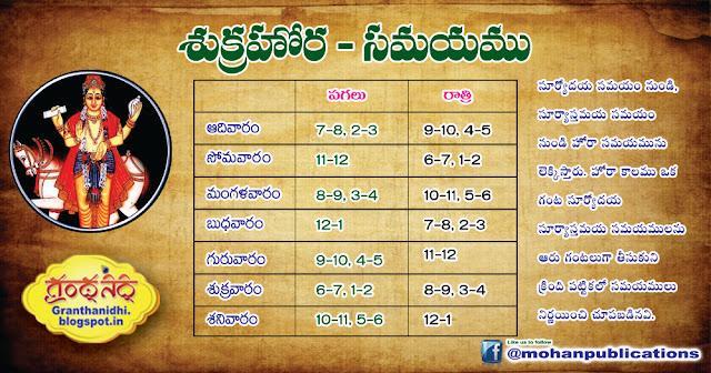 శుక్రహొర సమయాలు | Sukrahora Samayalu | Mohanpublications | Granthanidhi | Bhaktipustakalu Shukrahora Astrology Horoscope Lagna Rasi Nakshatra Hora Publications in Rajahmundry, Books Publisher in Rajahmundry, Popular Publisher in Rajahmundry, BhaktiPustakalu, Makarandam, Bhakthi Pustakalu, JYOTHISA,VASTU,MANTRA, TANTRA,YANTRA,RASIPALITALU, BHAKTI,LEELA,BHAKTHI SONGS, BHAKTHI,LAGNA,PURANA,NOMULU, VRATHAMULU,POOJALU,  KALABHAIRAVAGURU, SAHASRANAMAMULU,KAVACHAMULU, ASHTORAPUJA,KALASAPUJALU, KUJA DOSHA,DASAMAHAVIDYA, SADHANALU,MOHAN PUBLICATIONS, RAJAHMUNDRY BOOK STORE, BOOKS,DEVOTIONAL BOOKS, KALABHAIRAVA GURU,KALABHAIRAVA, RAJAMAHENDRAVARAM,GODAVARI,GOWTHAMI, FORTGATE,KOTAGUMMAM,GODAVARI RAILWAY STATION, PRINT BOOKS,E BOOKS,PDF BOOKS, FREE PDF BOOKS,BHAKTHI MANDARAM,GRANTHANIDHI, GRANDANIDI,GRANDHANIDHI, BHAKTHI PUSTHAKALU, BHAKTI PUSTHAKALU, BHAKTHI