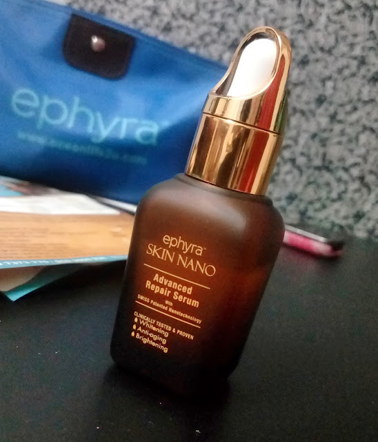 Ephyra Skin Nano Advanced Repair Serum tidak mngecewakan!