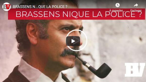 [VIDEO] Est-ce que Brassens n… la police lui aussi ?