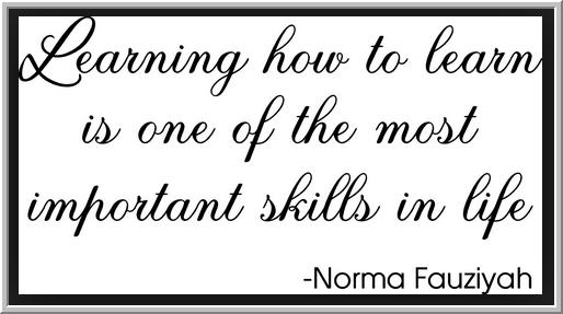 Image result for learning how to learn is one of the most important skills in life