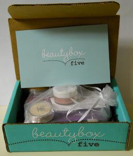 Beauty Box 5 box opening