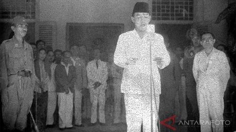Kedekatan Bung Karno dan Keluarga Besar Ketua GNPF Ulama Dalam Proklamasi Kemerdekaan