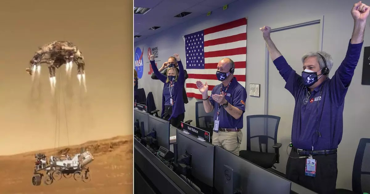 NASA's Perseverance Rover Successfully Lands On Mars