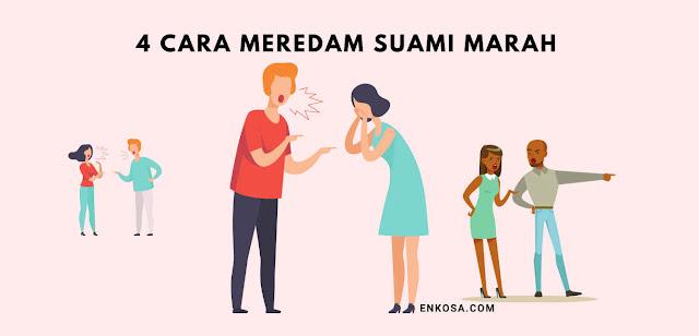4 Cara Meluluhkan Hati Suami yang Sedang Marah