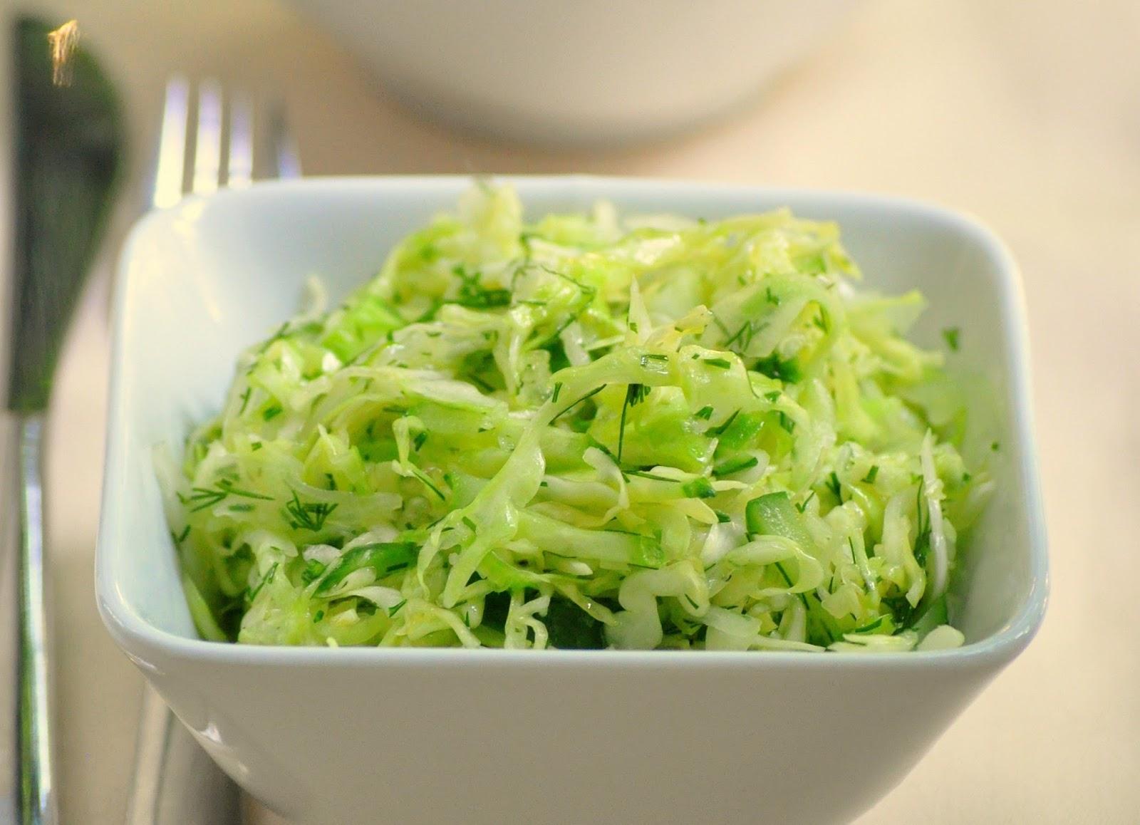 салат на зиму из молодой капусты