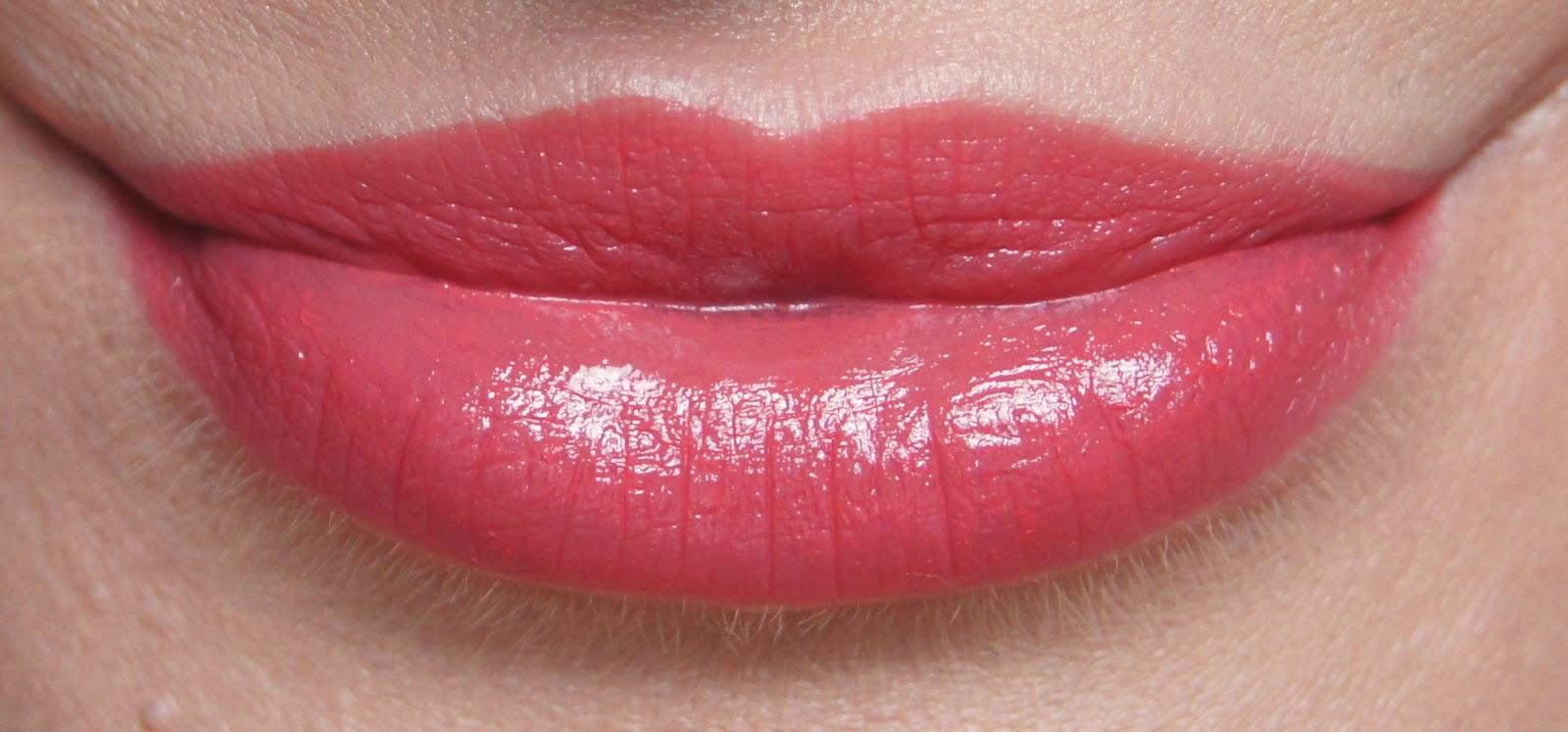 nars niagara lipstick swatch