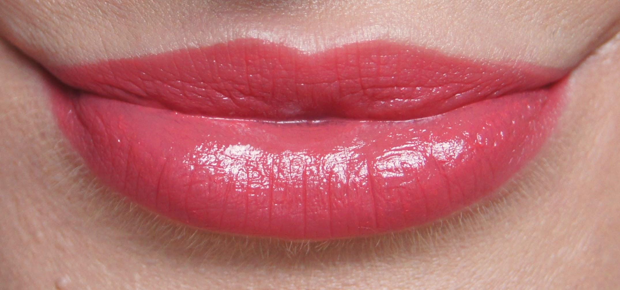 nars niagara satin lipstick review swatch