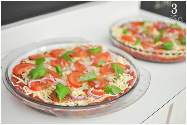 pizza de carne moída receita