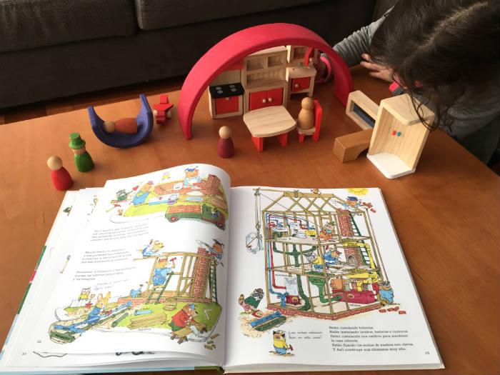Richard Scarry libros infantiles Todos al trabajo