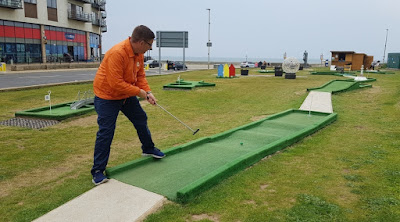 North Bay Crazy Golf in Scarborough