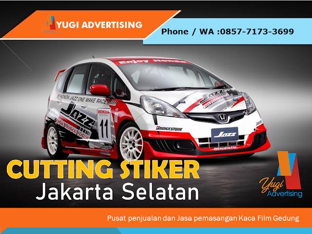 Cutting Stiker Jakarta Selatan
