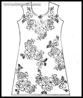 Top 3 Best salwar kameez pattern images in 2020 | salwar kameez drawing easy | dress design sketch