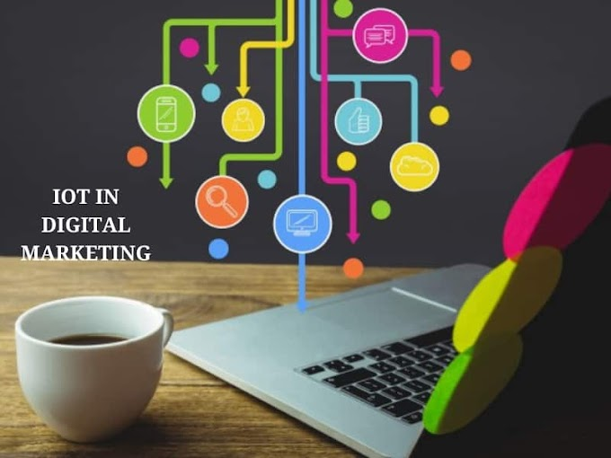 What is the role of IoT in digital marketing?