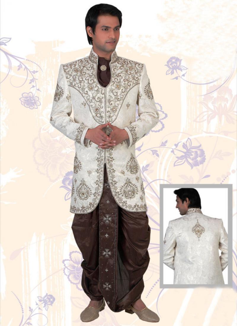 Bridals & Grooms Styles: Latest Groom wedding dresses of