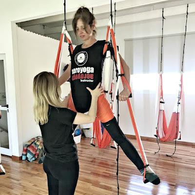 yoga aéreo, aeroyoga, airyoga, aerial yoga, yoga aérea