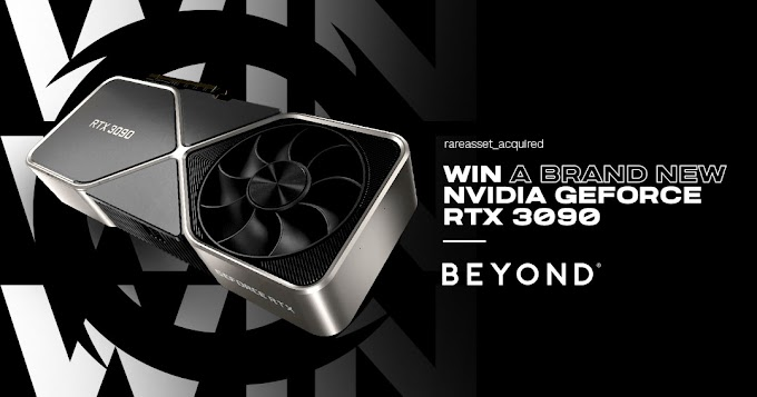 Sorteio GeForce Nvidia RTX 3090