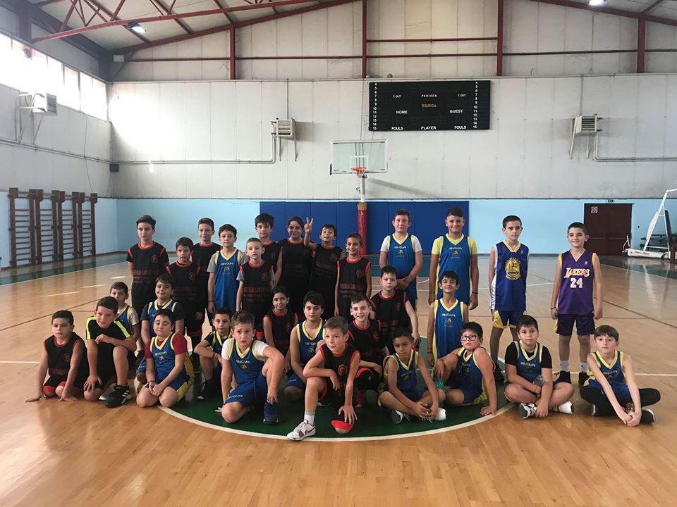 Φιλικές αναμετρήσεις για την Ακαδημία Μπάσκετ του Δήμου Λαρισαίων