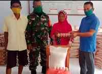 Ratusan Warga Jatiwangi Antrian Ambil Paket Sembako Program Kota Bima Setara