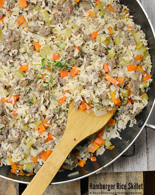 Hamburger Rice Skillet