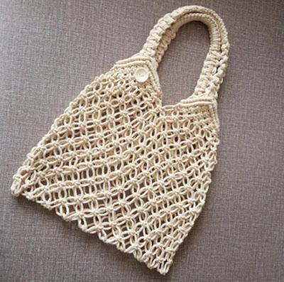 модная плетеная сумка