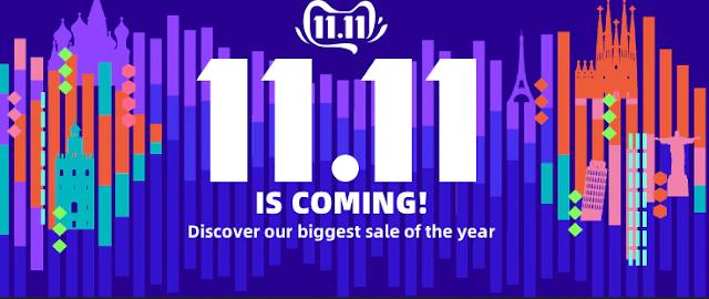 ali express sale 11.11 2020