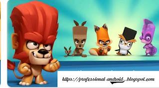 تحميل لعبة مغامرة الحيوان zooba مهكره آخر إصدار للأندرويد