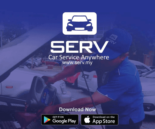 Servis Kereta Di Rumah Dengan Perkhidmatan SERV