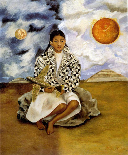 Фрида Кало - Лука Мария, девочка из Теуакана. 1942