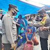 Wakapolres Soppeng, Kompol H. Muhiddin Yunus, Pimpin Giat KKYD di Pasar Sentral Soppeng