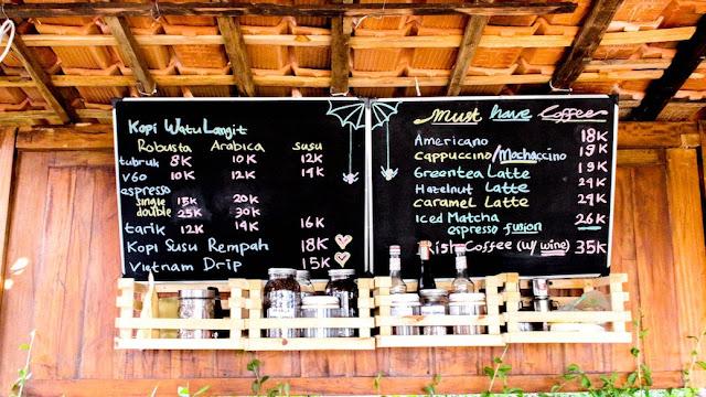 watu langit coffee and resto jogjaa prambanan