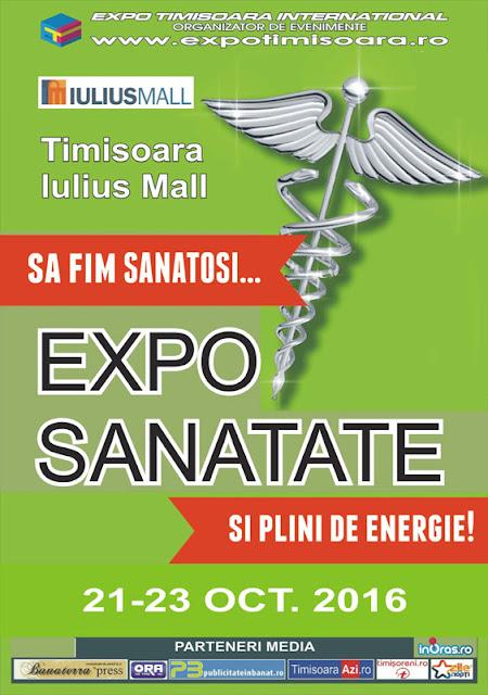 Expo Sănătate - 21-23 octombrie 2016, ediția de toamnă