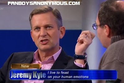 Jeremy Kyle morning television features swearing violence and discrimination