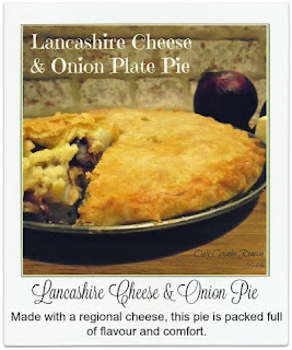 This lancashire cheese & onion pie is made with a regional cheese and is packed with flavour and comfort courtesy of the 'double' crust.