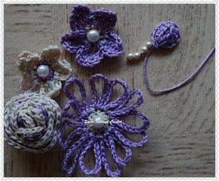 free crochet pattern for flower motifs