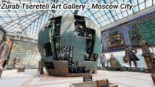Zurab Tsereteli Art Gallery in Moscow City Russia