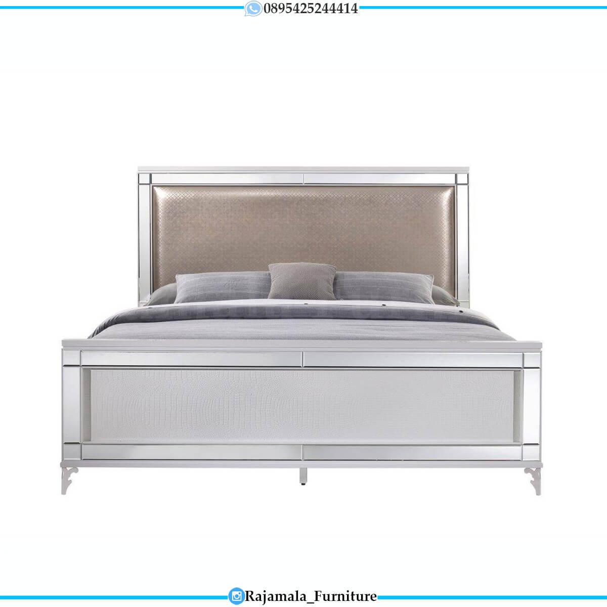 Tempat Tidur Minimalis Terbaru Natural Jati Classic RM-0685