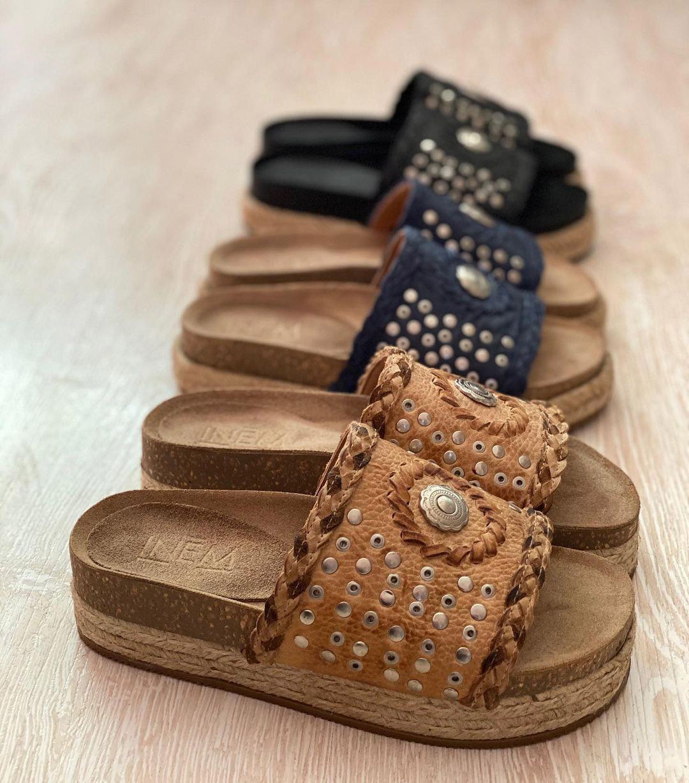 sandalias bajas bohemias moda 2021
