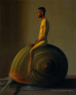 The Mystic-oil on canvas-116x146cm-HuesnShades