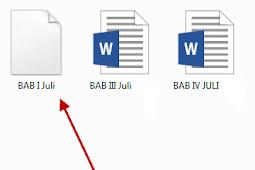 Solusi File Pdf, Excel, Word dari whatsapp tidak bisa dibuka di Laptop atau Komputer