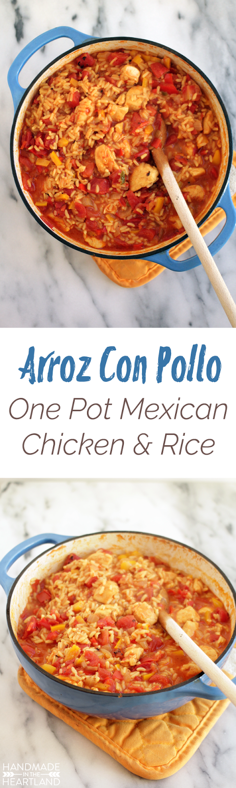 easy one pot chicken and rice recipe