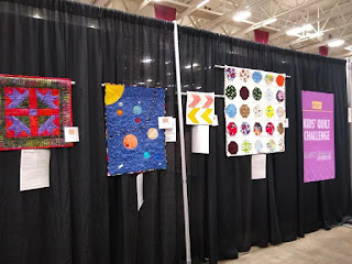 2nd place kids' quilt at the 2019 Wisconsin Quilt Show