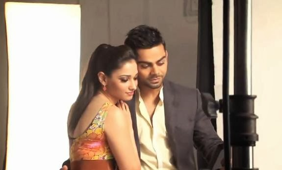 News Virat Kohli Girlfriend Tamanna 2014 Cricket Teams 2014