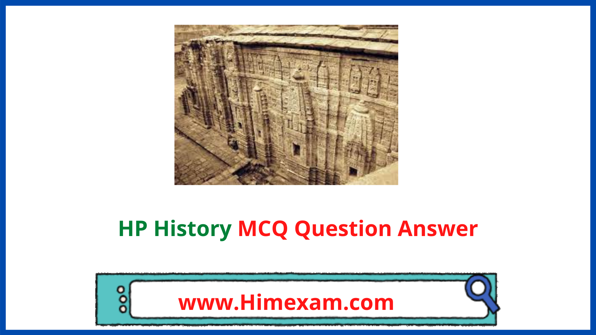 HP History MCQ Question Answer