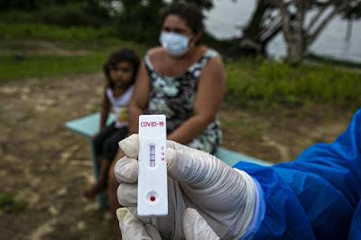 Pernambuco tem 41.010 casos confirmados de contaminação pelo novo coronavírus
