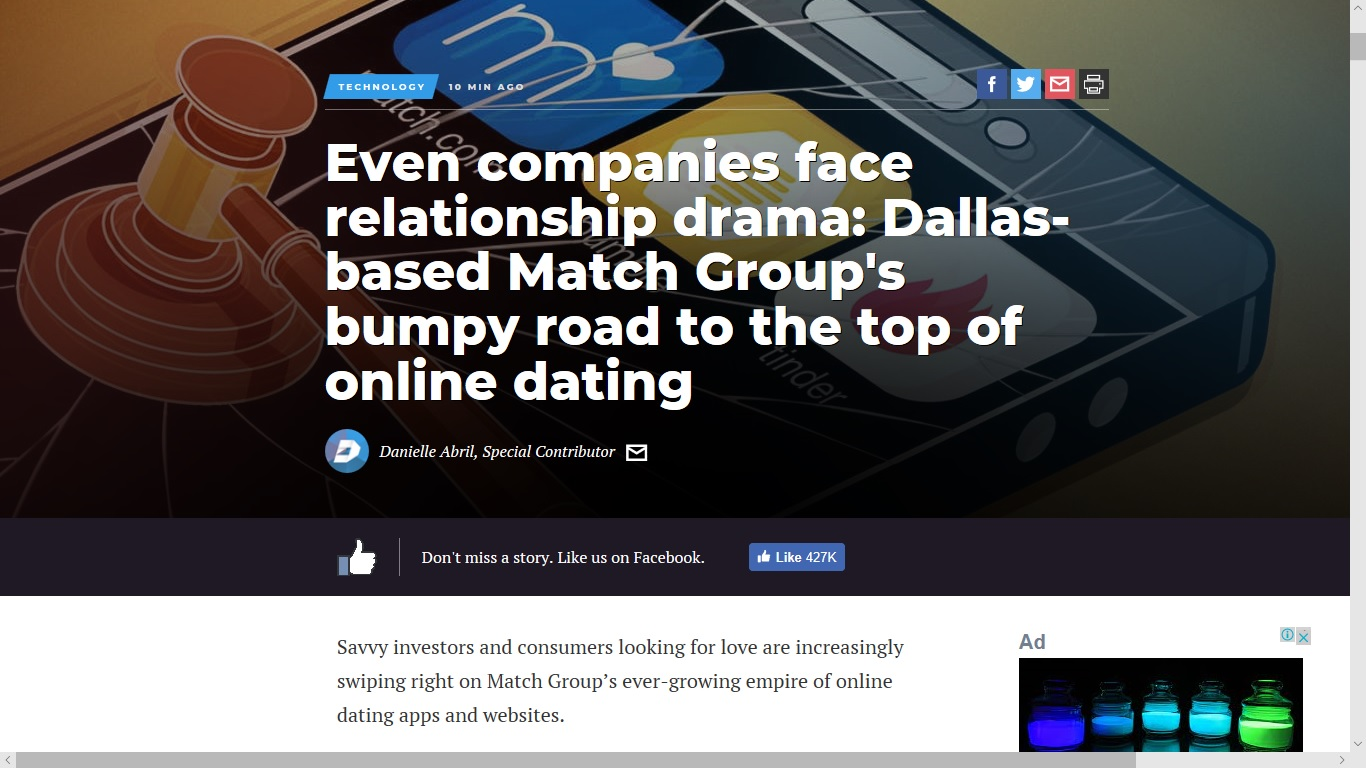 Online dating groups