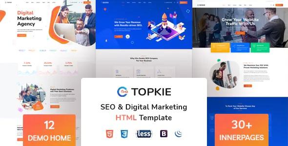Best SEO Marketing HTML Template