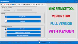 Miko Service Tool 5.2 Pro