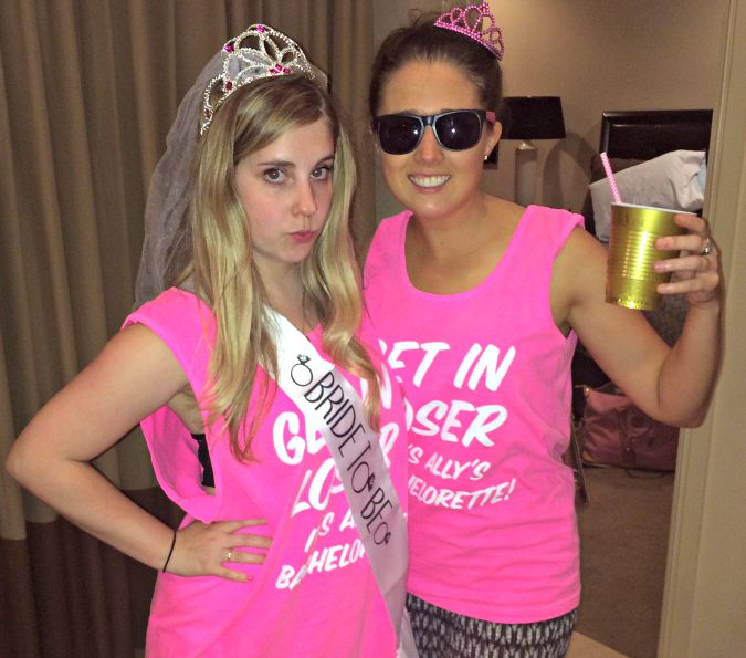 mean girls themed bachelorette party