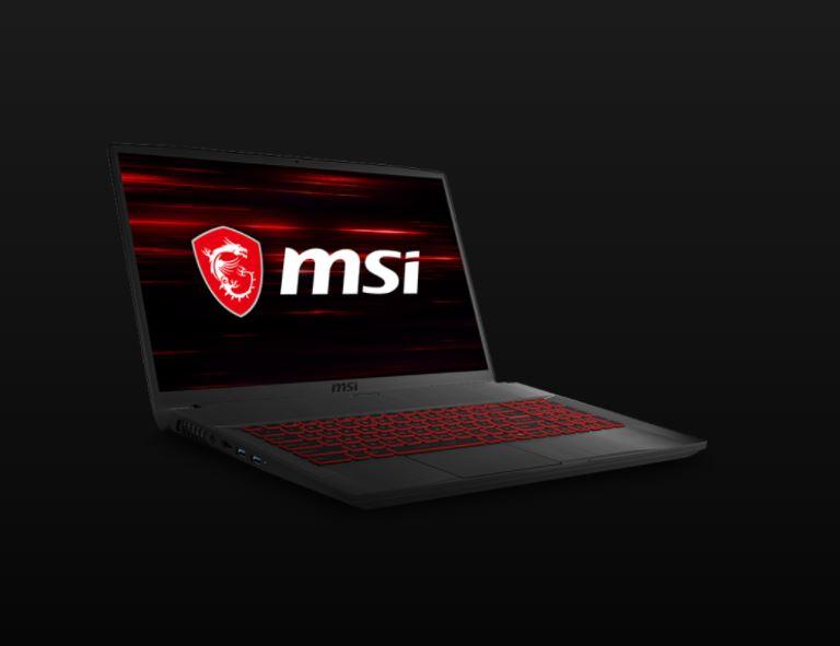 MSI GF75 Thin 10SDR 608ID, Laptop Gaming dengan Layar 17,3 Inci 144Hz dengan GeForce GTX 1660 Ti