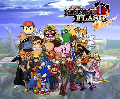 All our beloved games: Super smash flash 2
